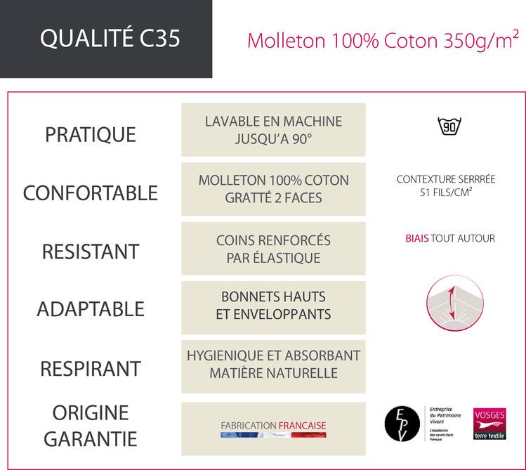 FICHE TECHNIQUE C35 - Protection Blanc des Vosges