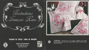 Première collection Blanc des Vosges