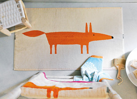 MR FOX Mandarine Linge de bain