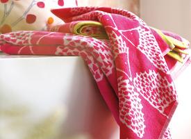 SPIKE Fuchsia Linge de bain
